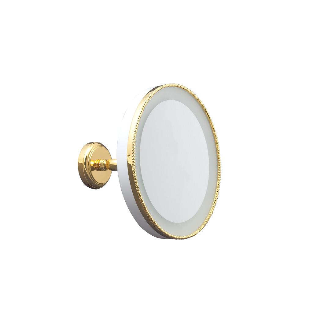 fs01-6141 miroir éclairant perlé