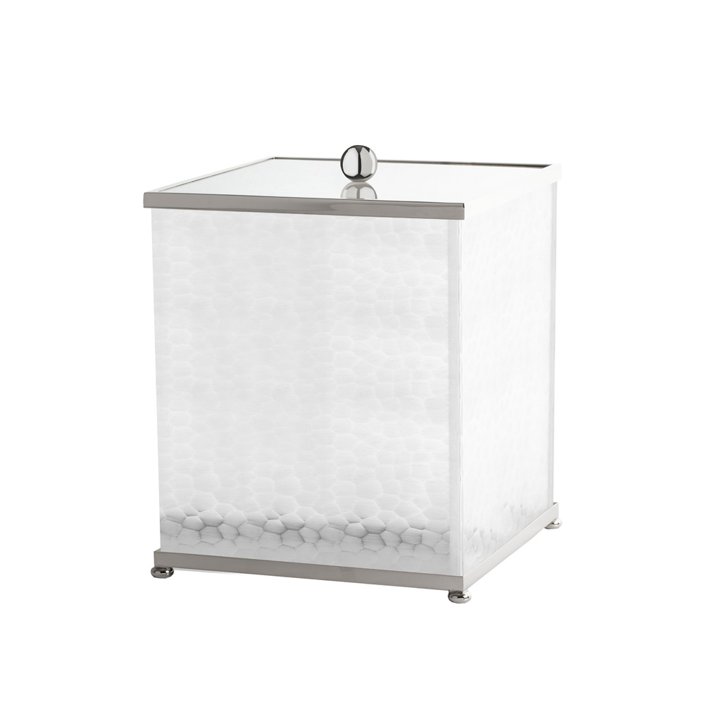 FS02-670 Square bin with cover