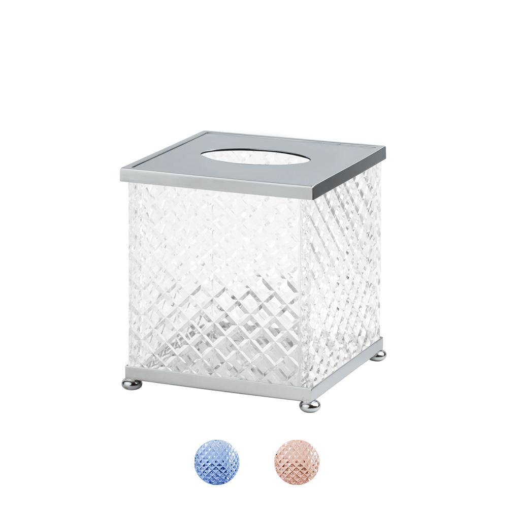 FS08P-651 Boîte à mouchoirs carrée