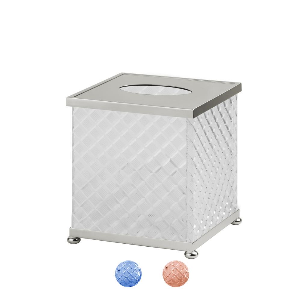 FS09P-651 Boîte à mouchoirs carrée