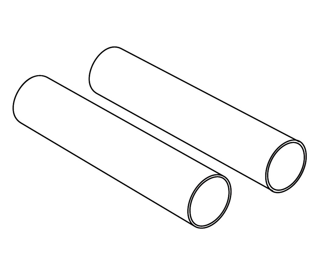 HTR-8HP Paire de tubes de connexion