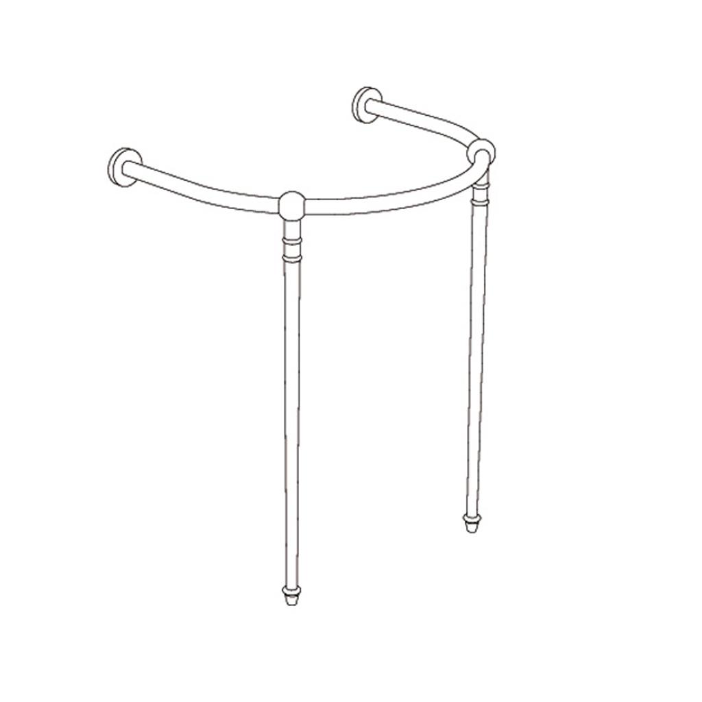 WS-8860 Porte-serviettes lisse Chateaudun