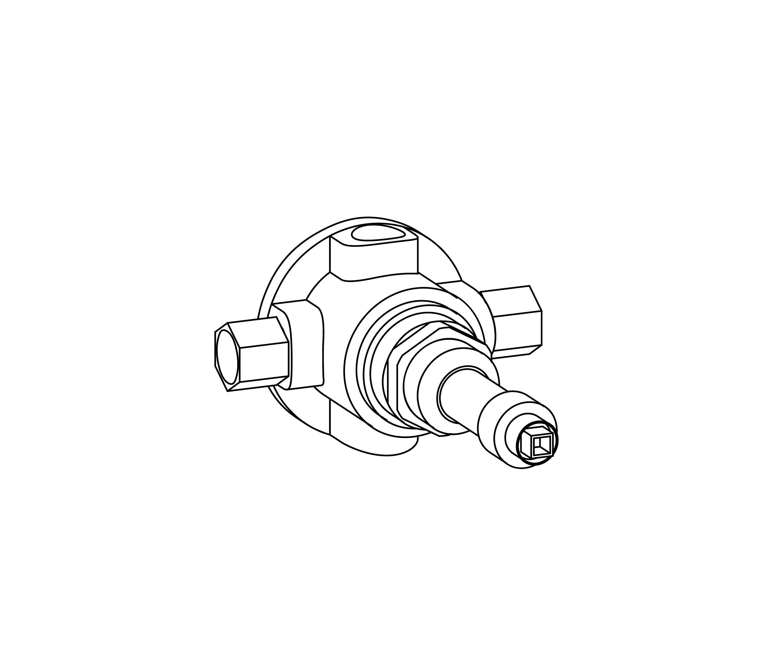 C00-4T0 Centrale thermostatique 1/2″ MCP2