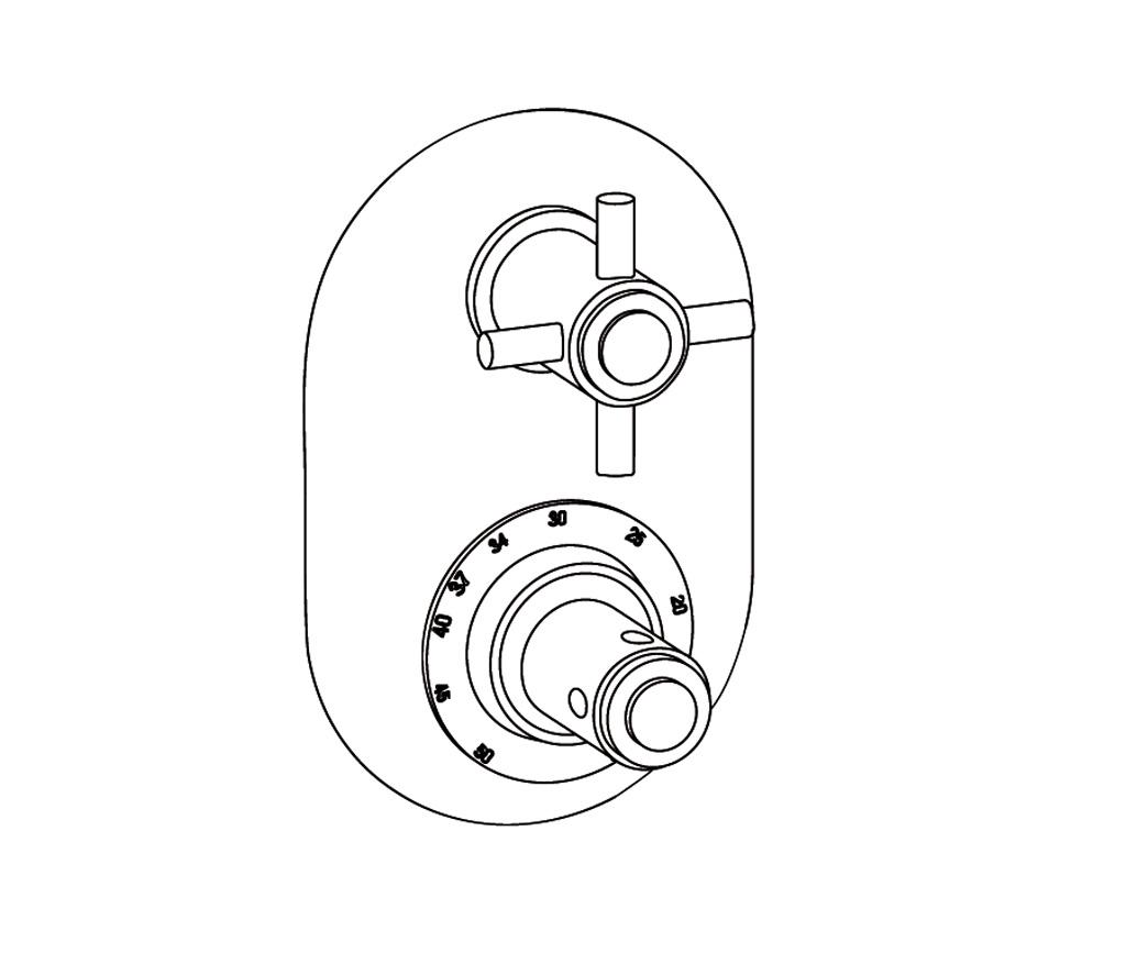 C31-2R21 Oval trim set