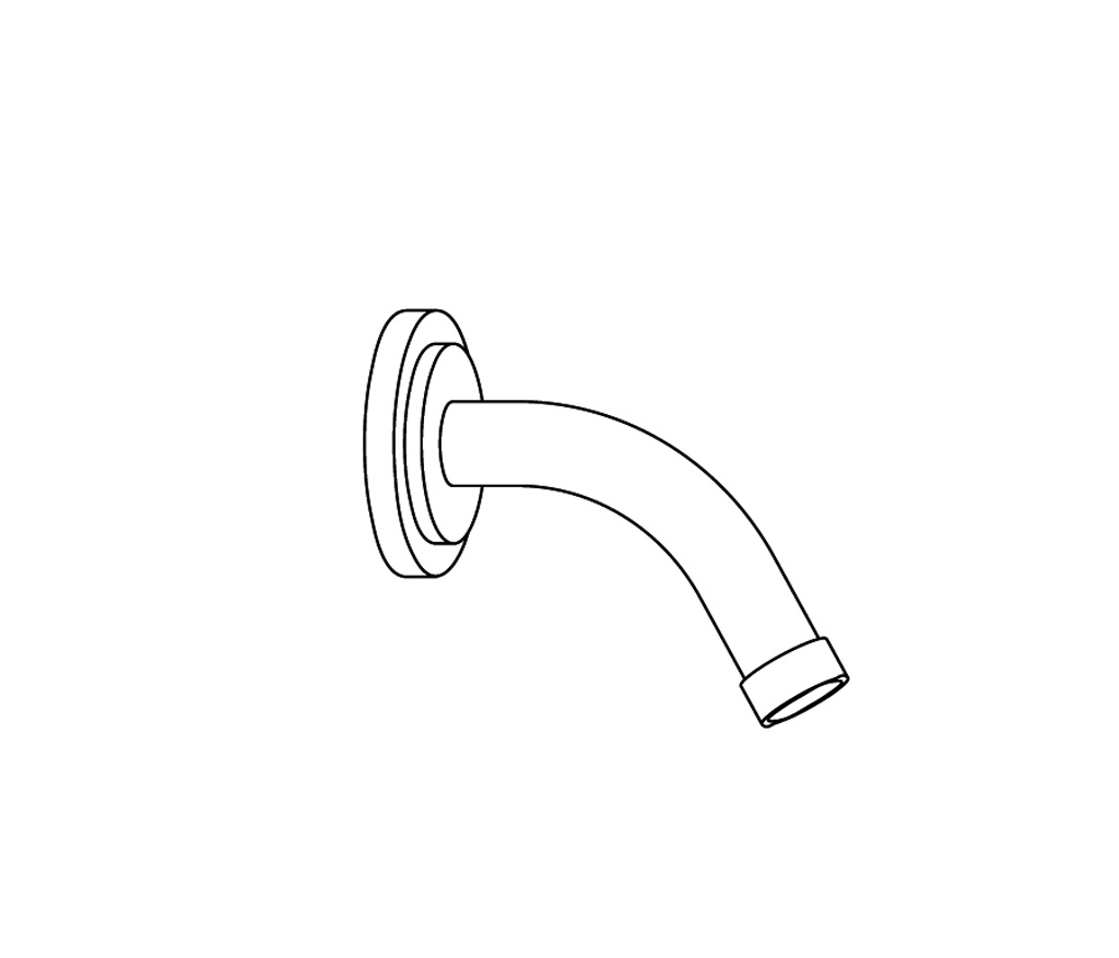 C31-2W120 Wall mounted shower arm