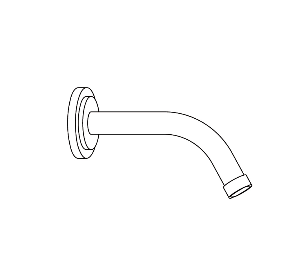 C31-2W170 Wall mounted shower arm