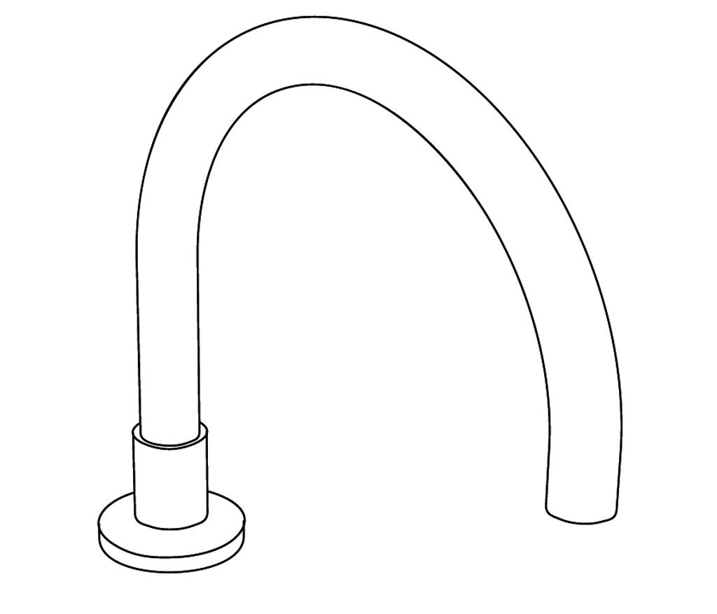 C31-3S1L Bec de bain sur gorge