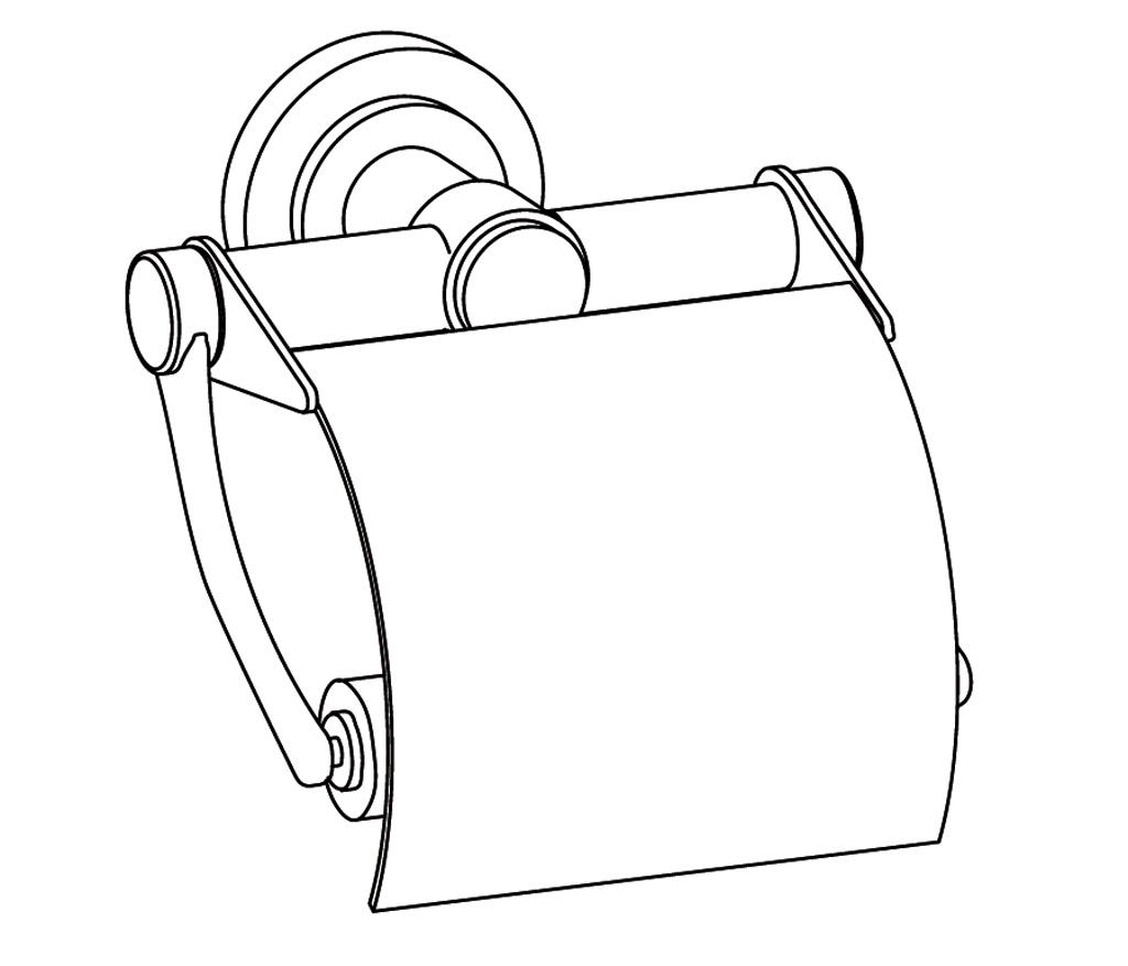 C31-503 Porte-rouleau avec couvercle