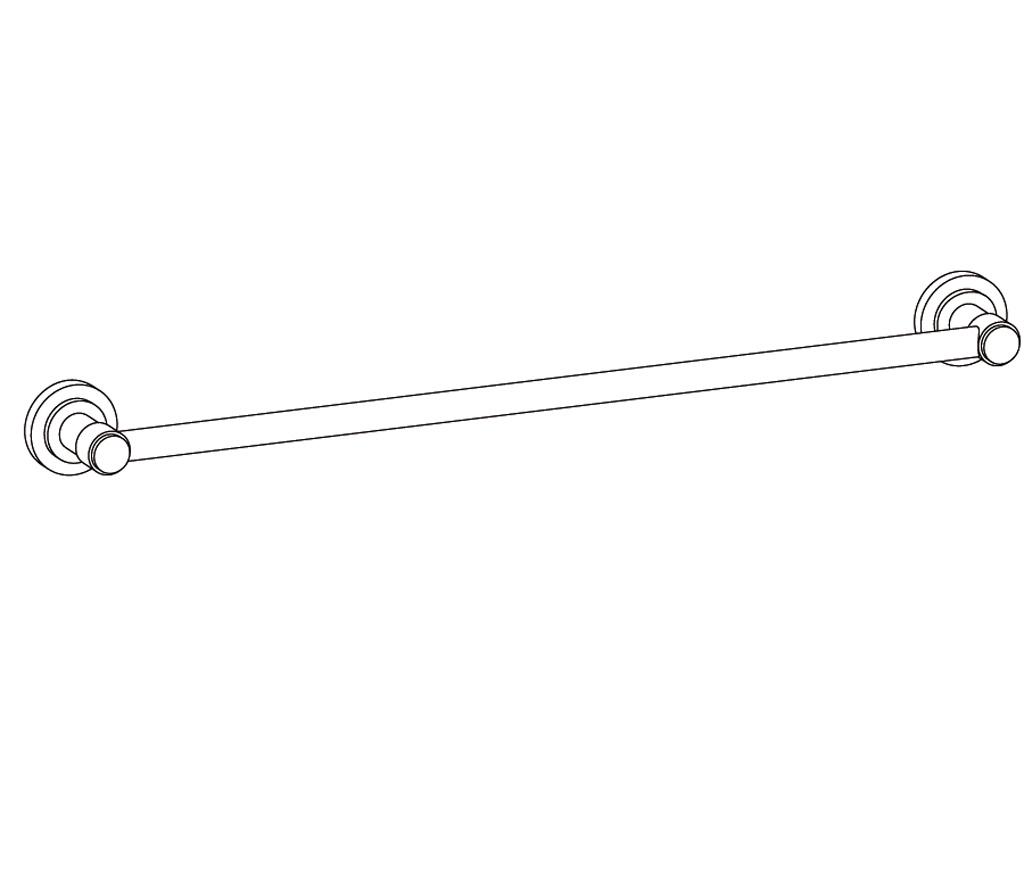 C31-508 Porte-serviette une barreFixe