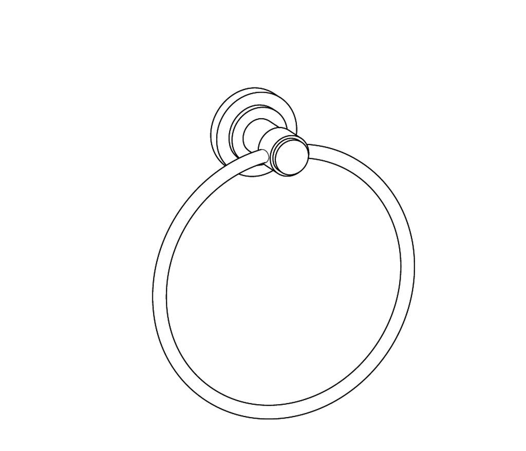 C31-510 Porte-serviette anneau