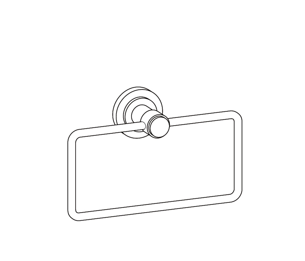 C31-511 Porte-serviette rectangle