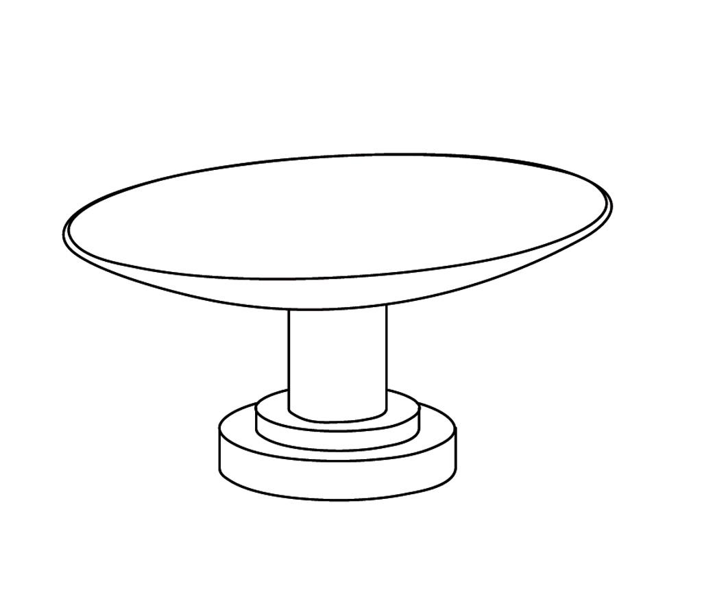 C31-517 Porte-savon ovale