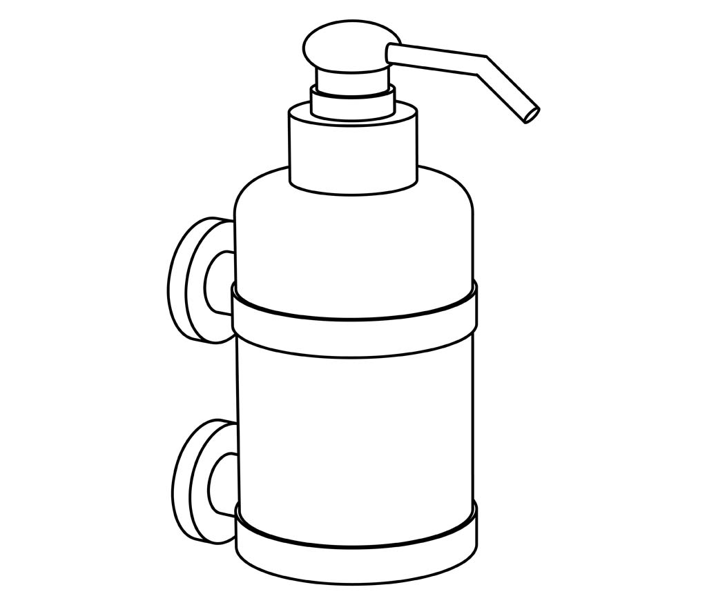 c31-530 distributeur de savon liquide mural