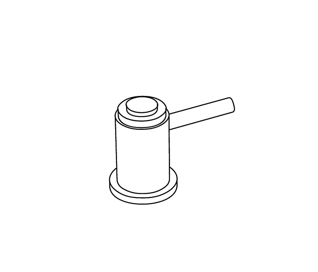 C33-126C Robinet d'alimentation 1/2″ sur gorgeF