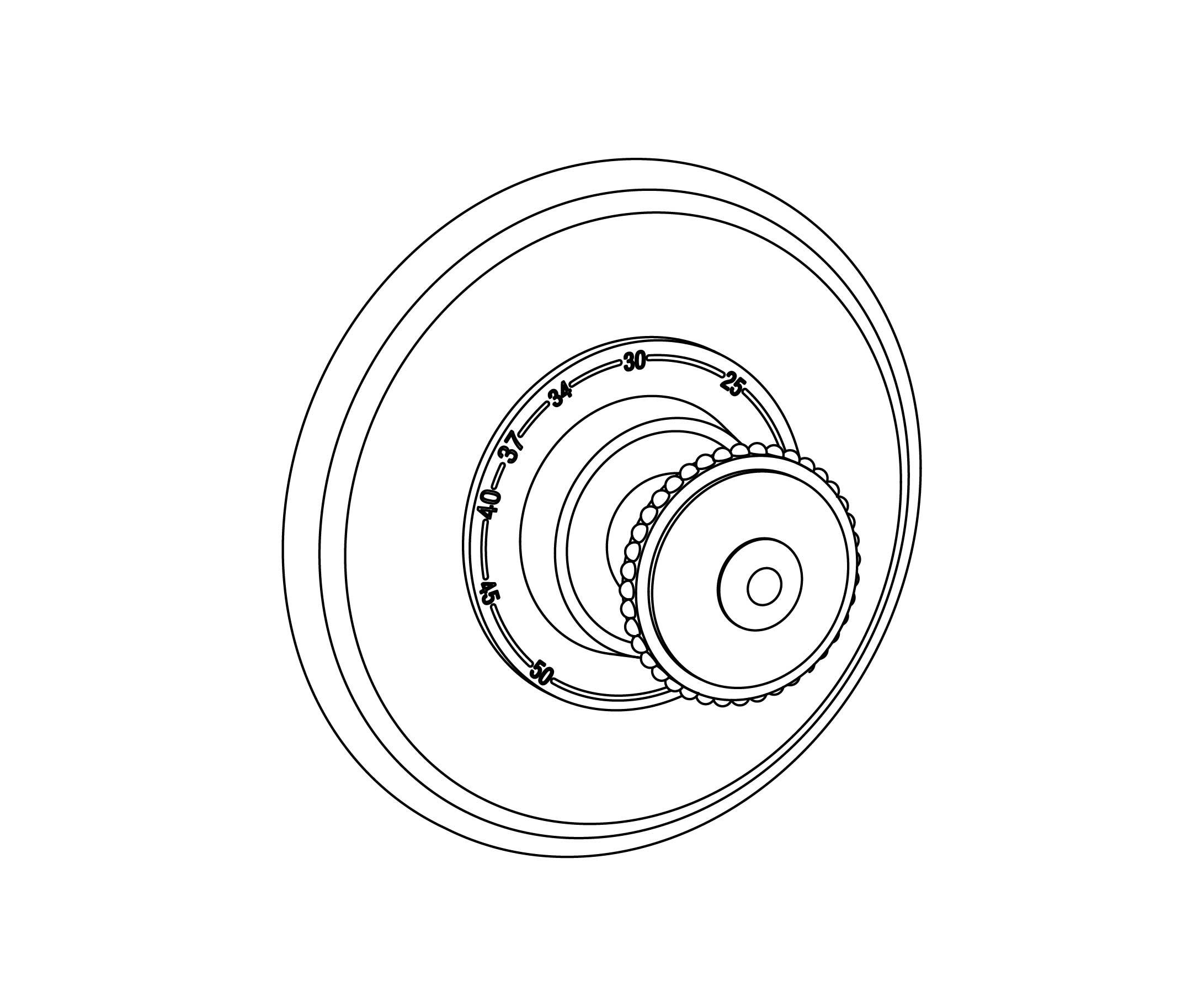 C37-2R1 Plaque ronde Ø150mm
