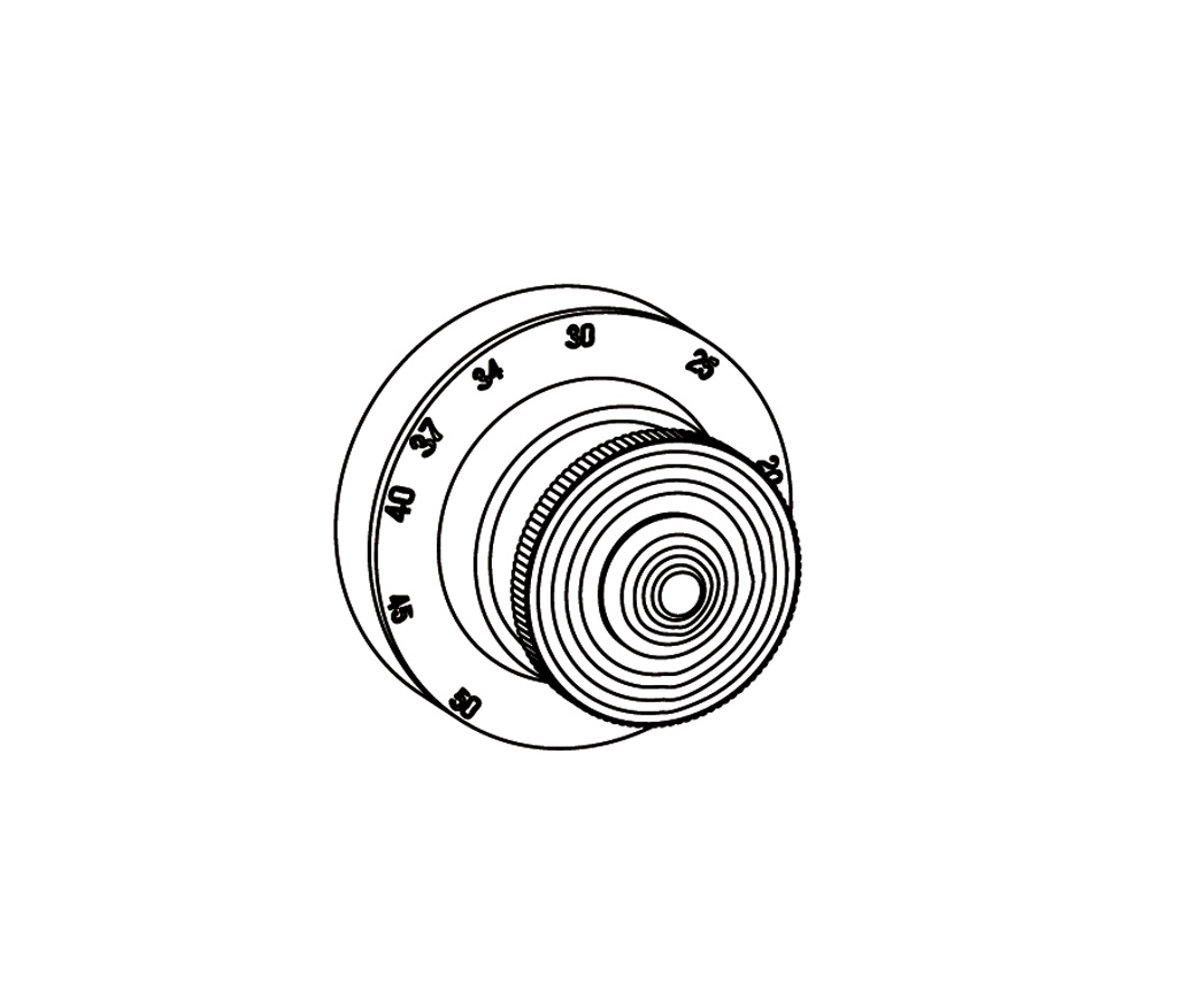 c37-4r0 plaque ronde ø80mm