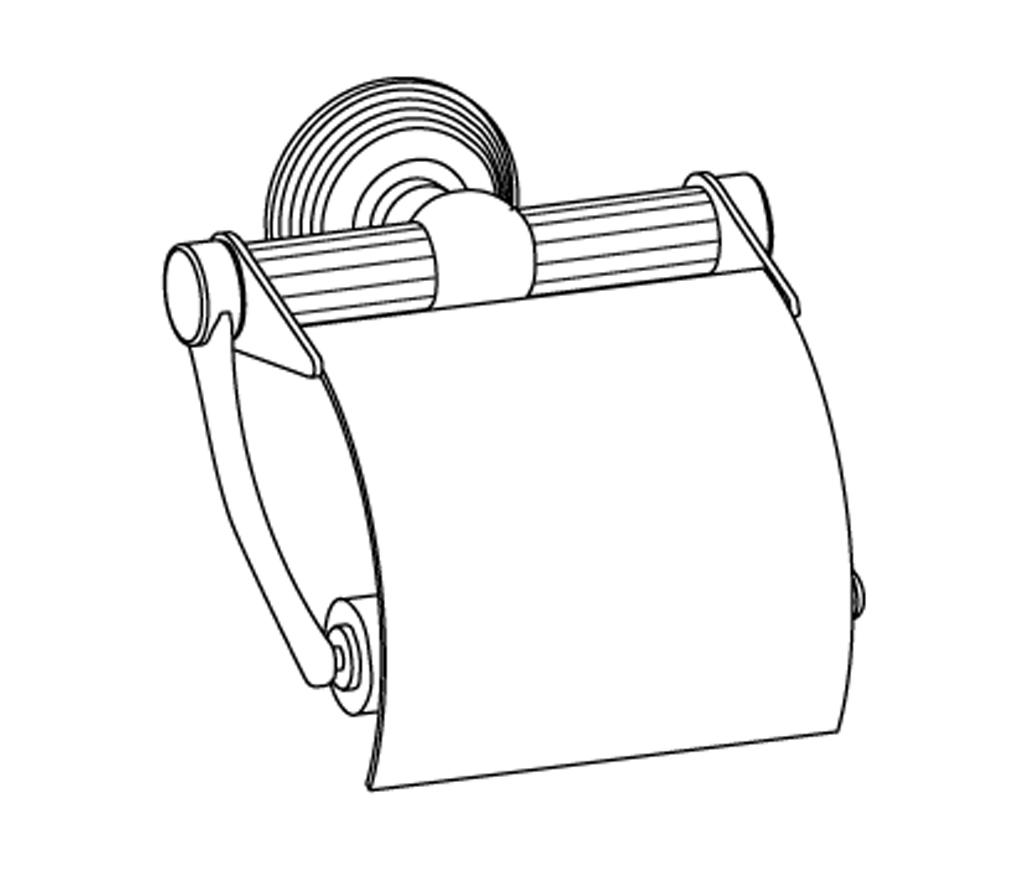 c37-503 porte-rouleau avec couvercle