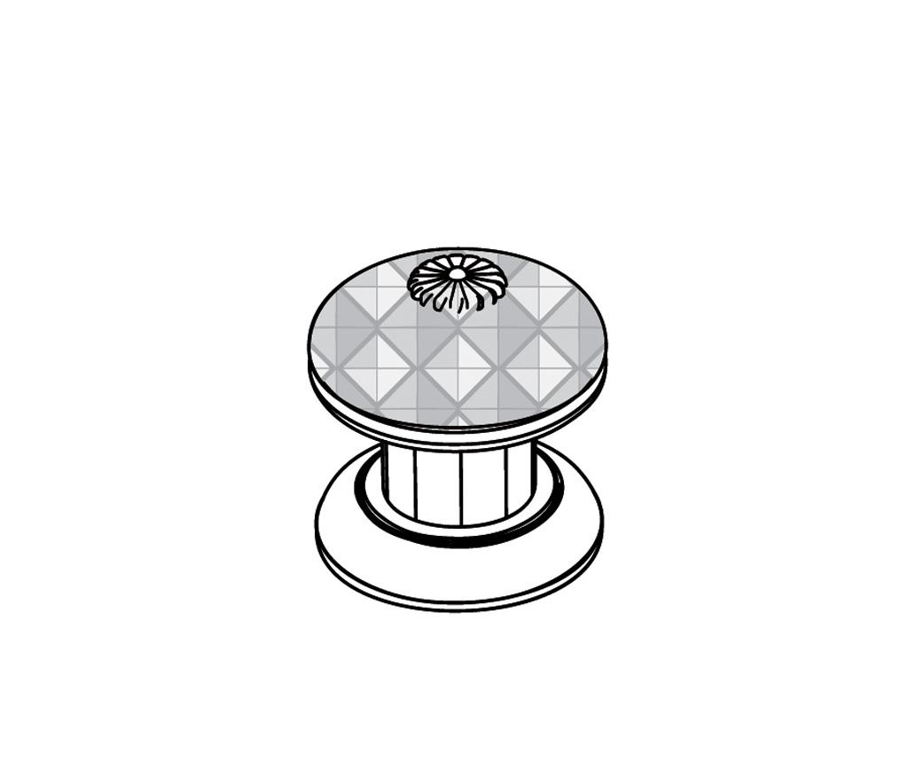 """C45-126C Rim mounted valve 1/2"""" C"""