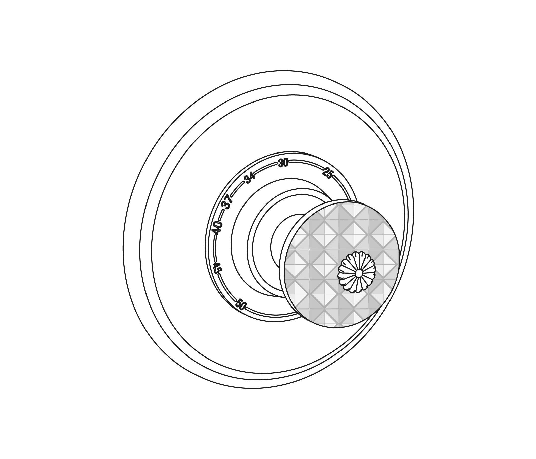 C45-2R1 Plaque ronde Ø150mm