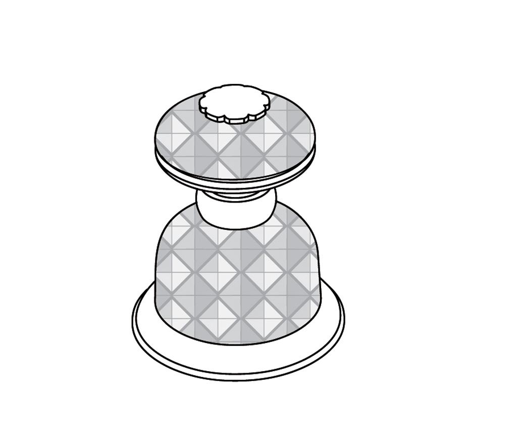 C46-126H Robinet d'alimentation 1/2″ sur gorgeC