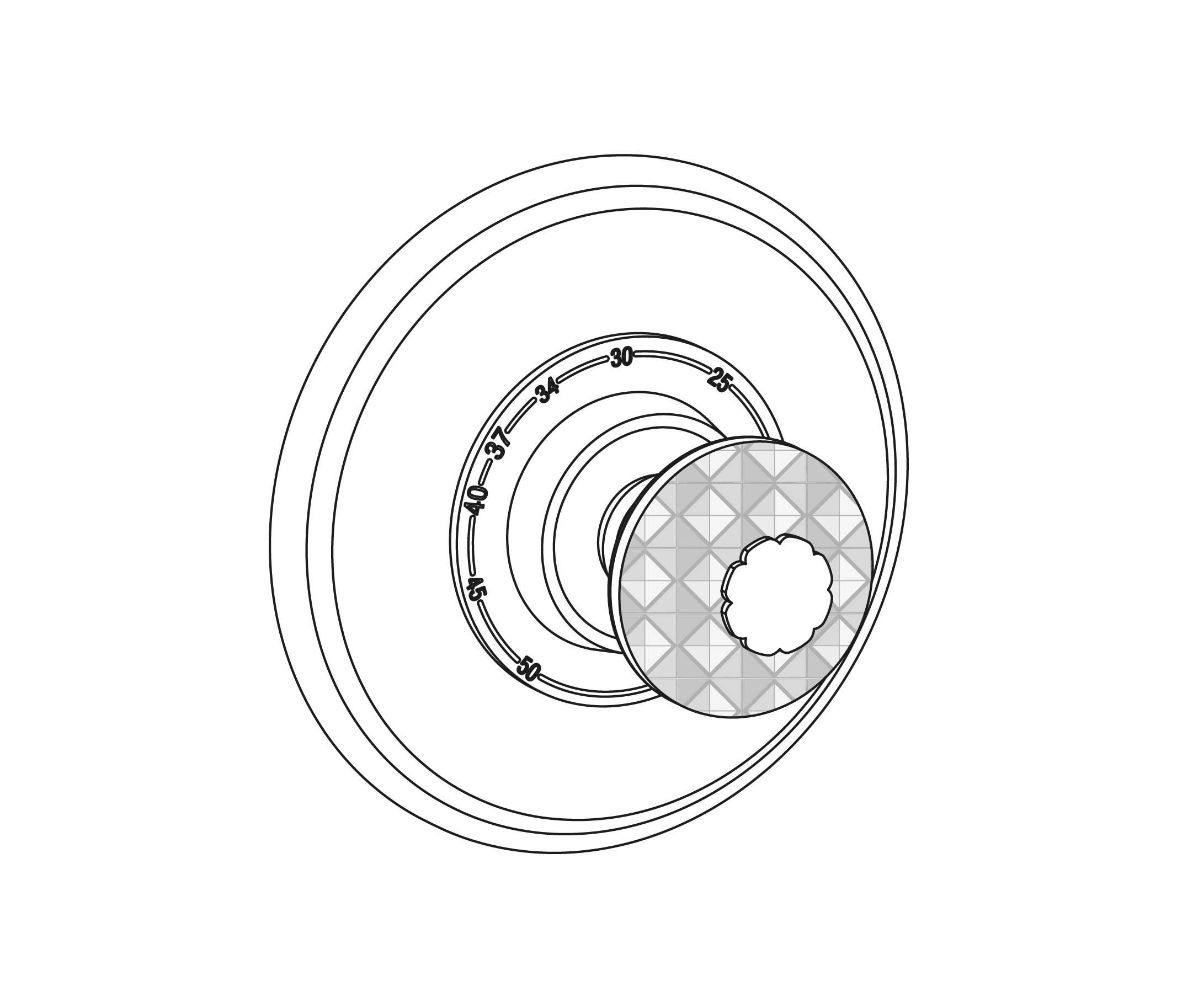 c46-2r1 plaque ronde ø150mm