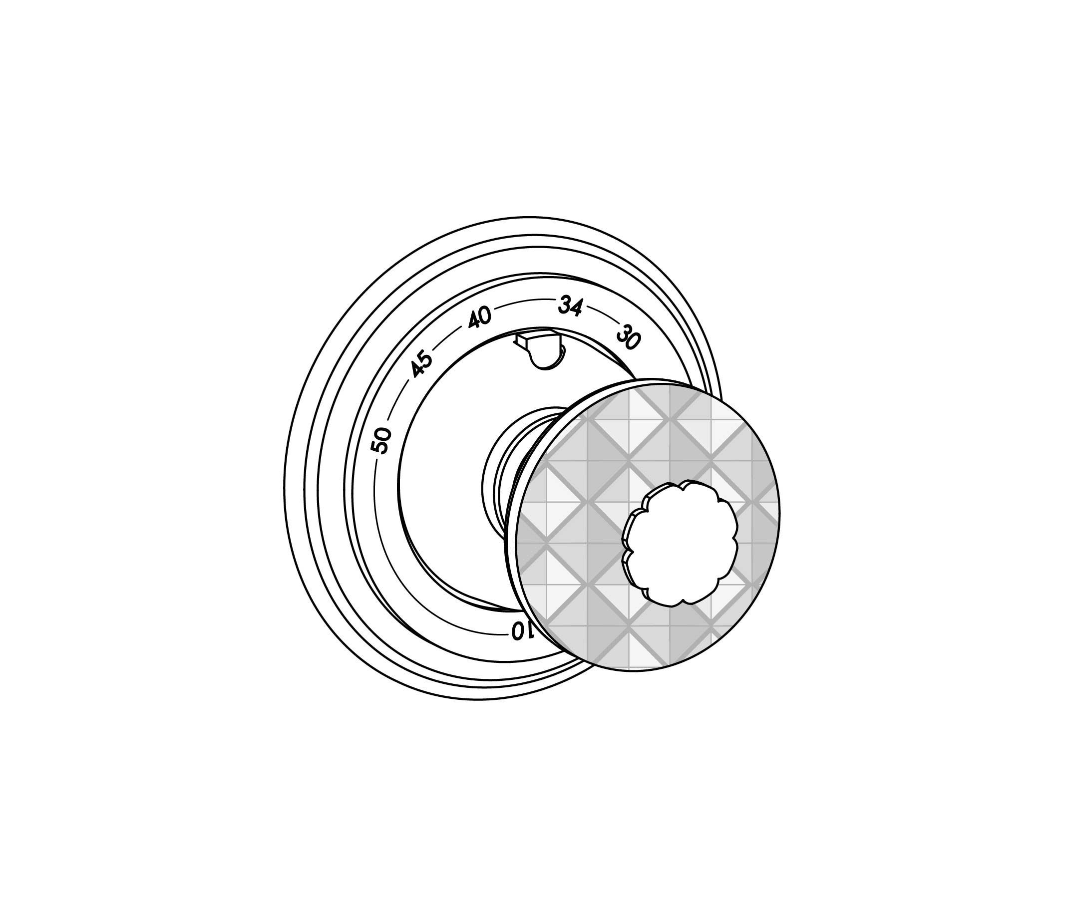 c46-4r0 plaque ronde ø80mm