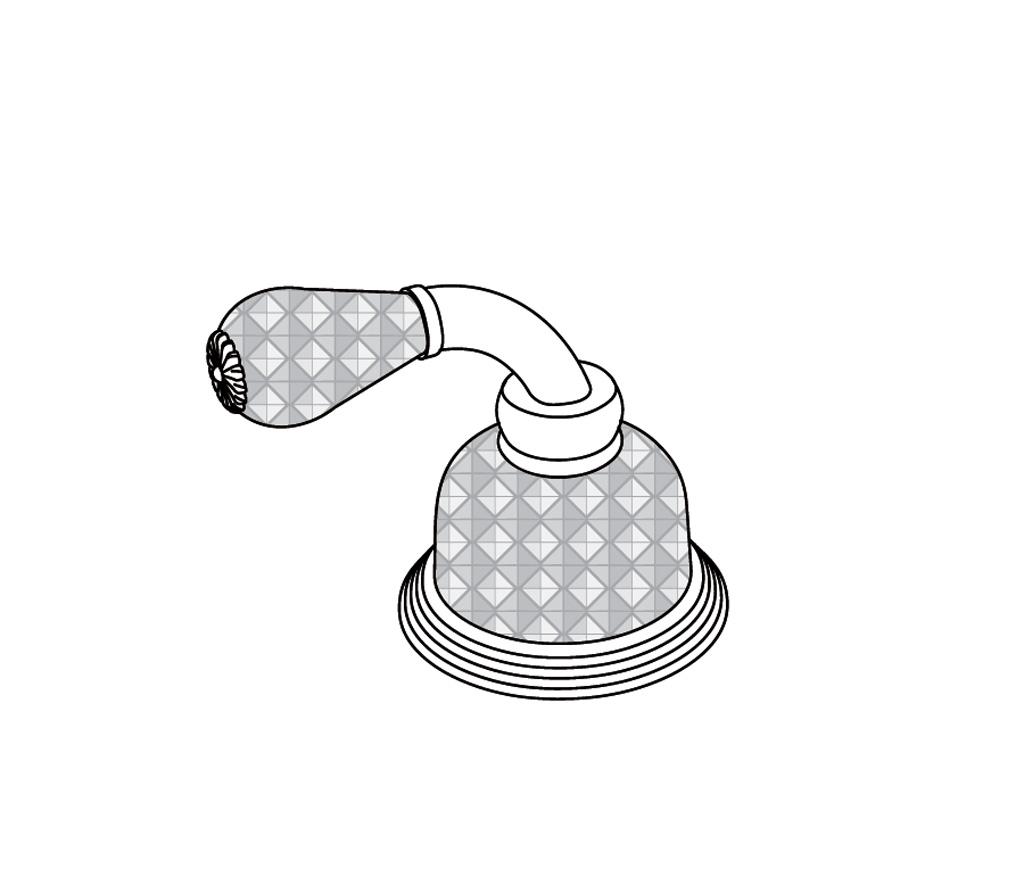 C56-126H Robinet d'alimentation 1/2″ sur gorgeC