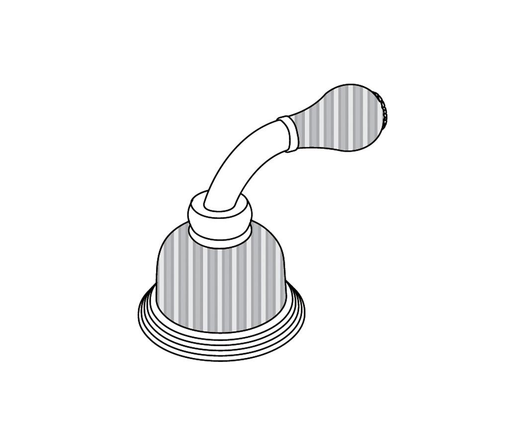 """C59-126C Rim mounted valve 1/2"""" C"""