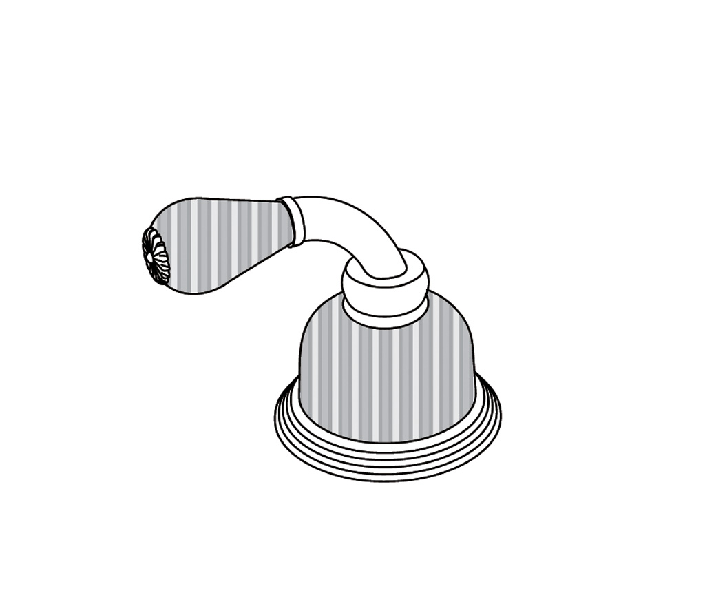 C59-126H Robinet d'alimentation 1/2″ sur gorgeC