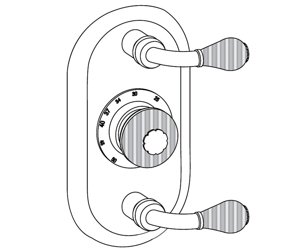 C59-2R22 Plaque ovale