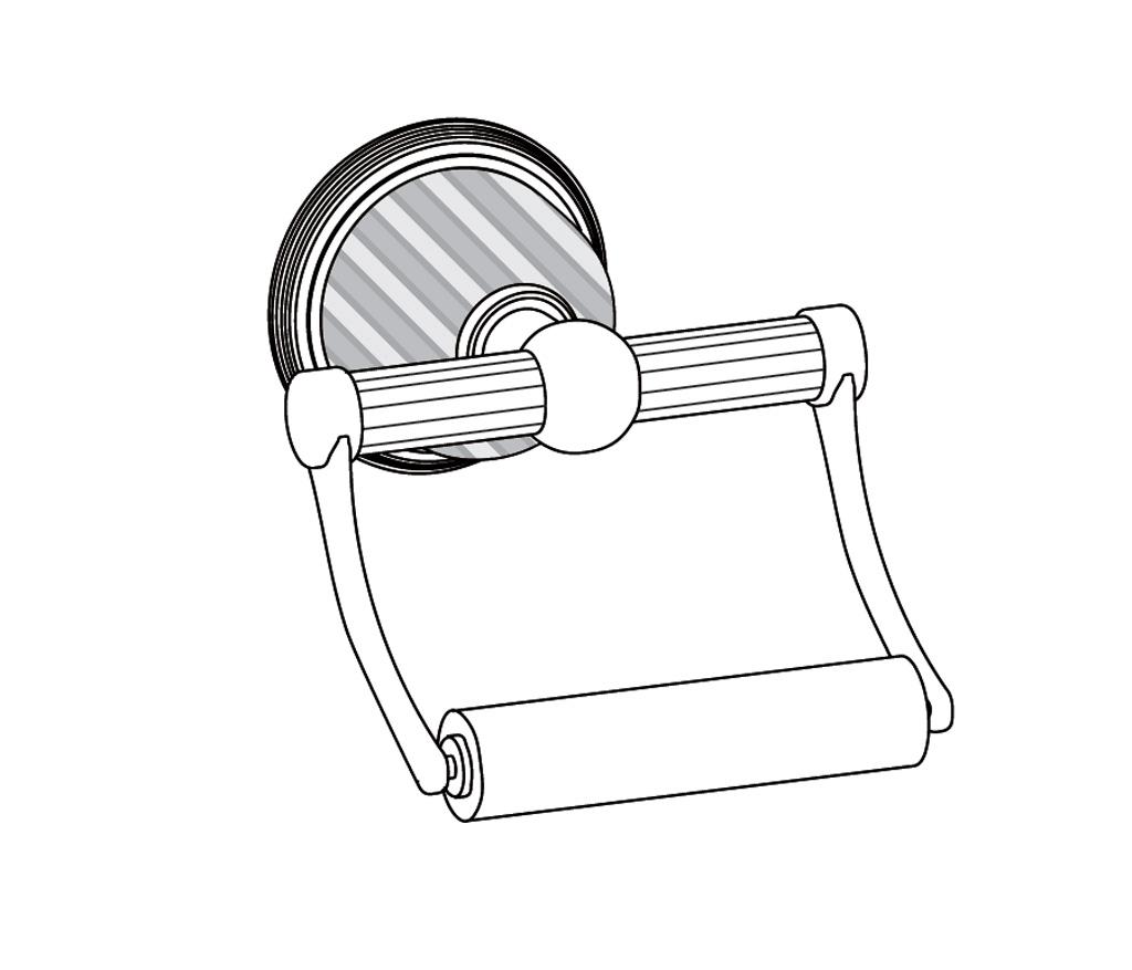 C59-504 Porte-rouleau sans couvercle