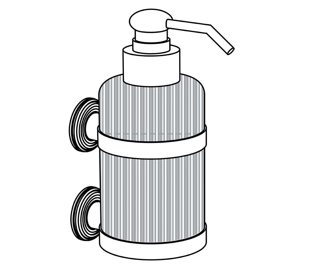 C59-532 Distributeur de savon liquide mural