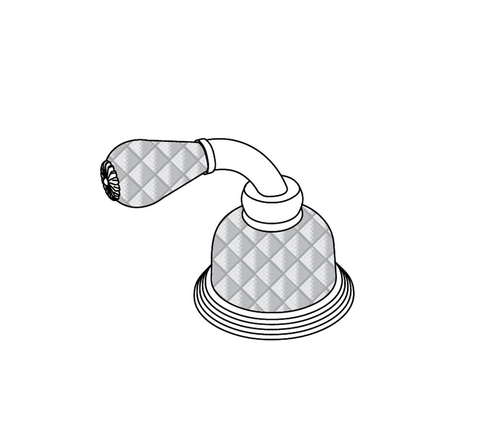 """C62-126H Rim mounted valve 1/2"""" H"""