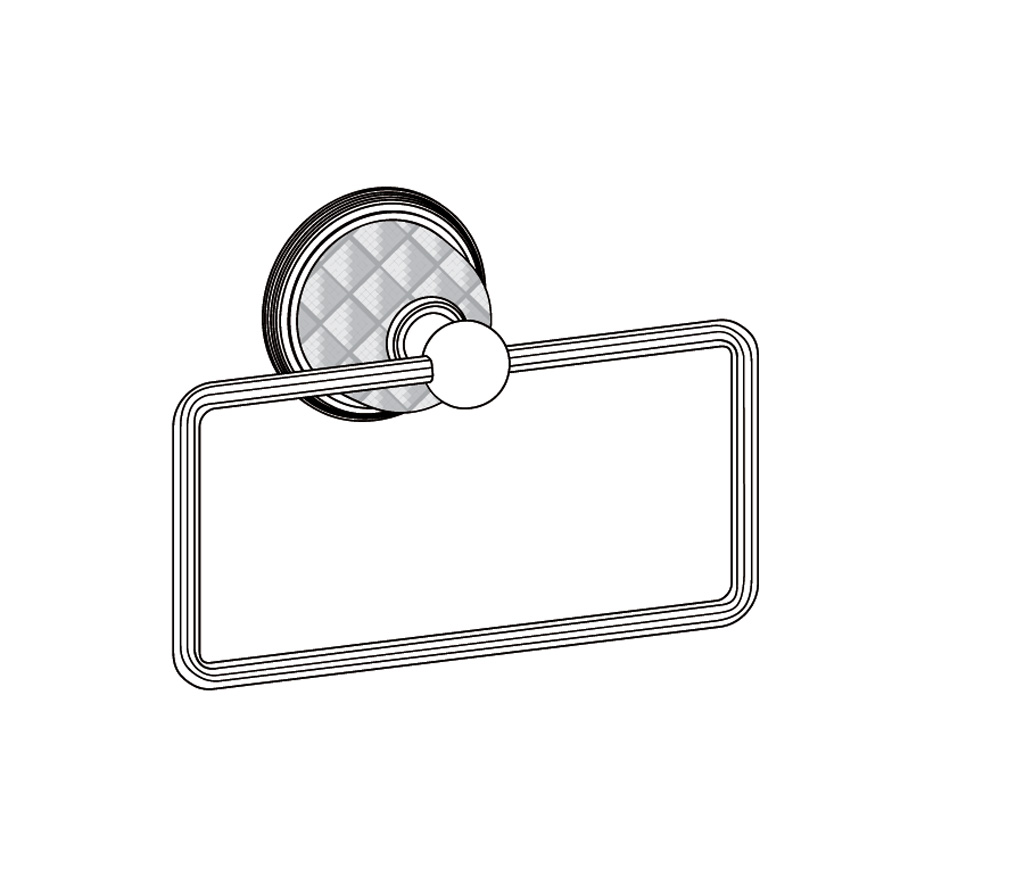 C62-511 Wall mounted towel holder