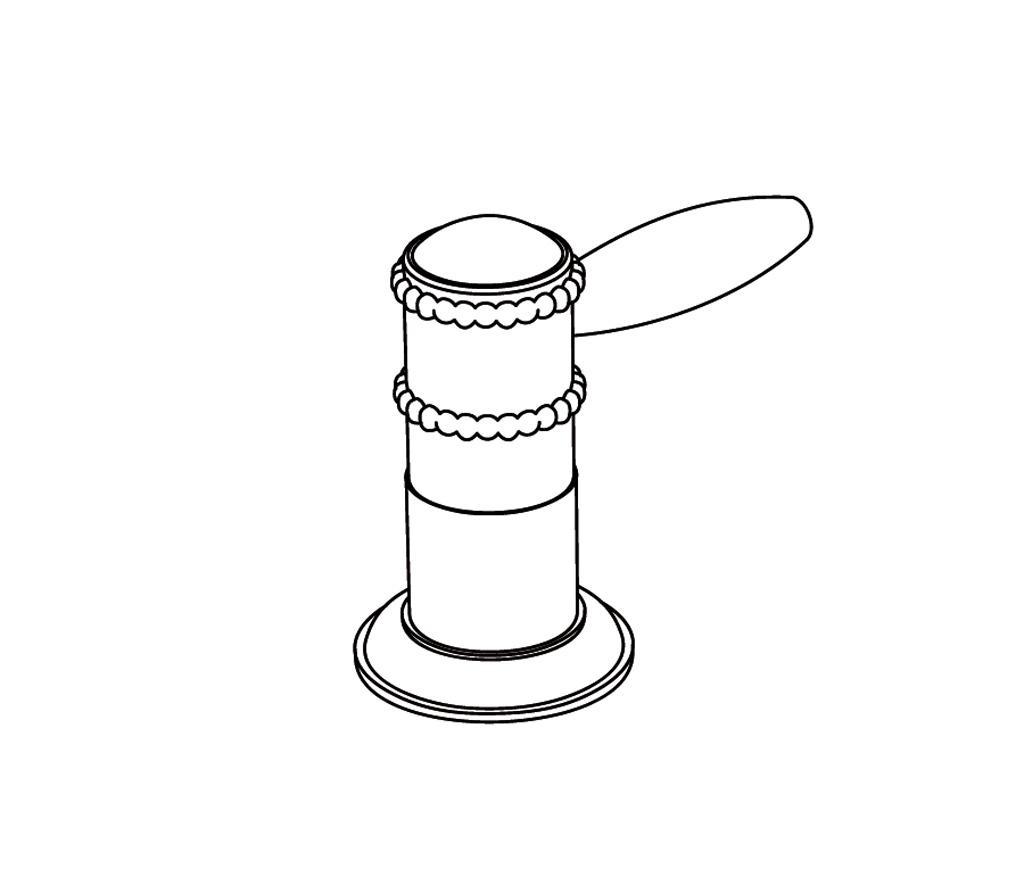 c66-126c robinet d'alimentation 1/2″ sur gorgef