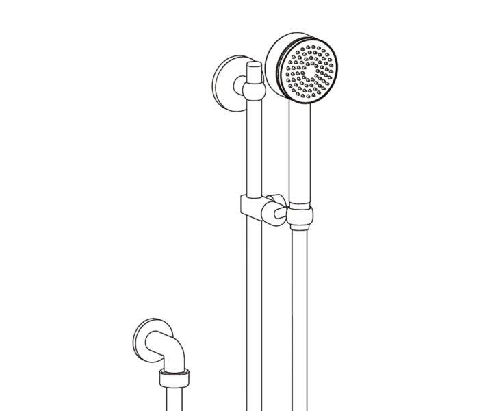 2211 Couli-douche avec douchette