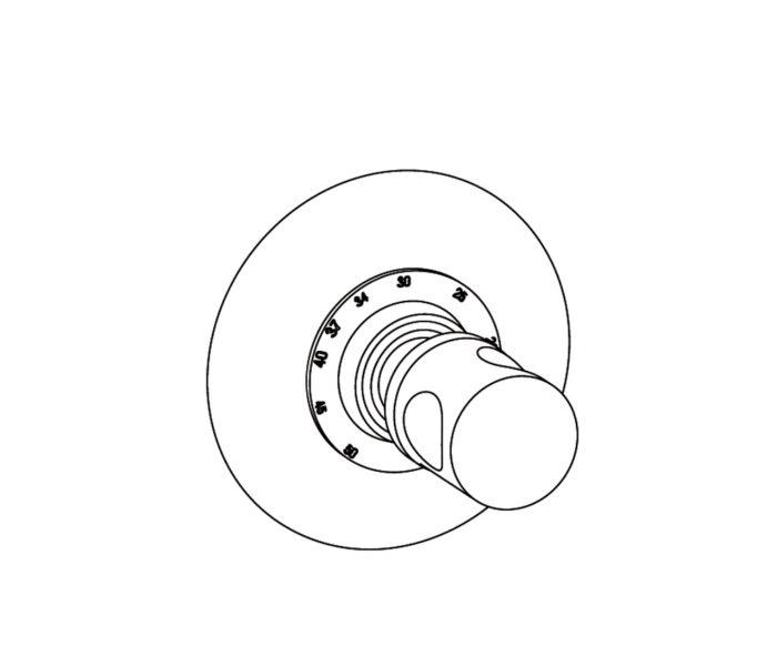 2R1 Plaque ronde Ø 150 mm