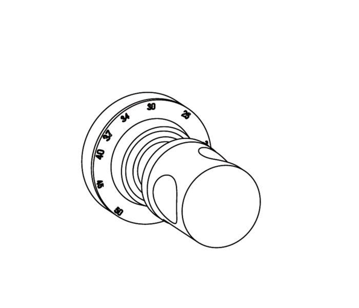 4R0 Plaque ronde Ø80mm